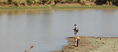 Fishing in Luangwa